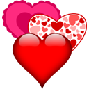 heart images for facebook chat