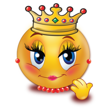 queen emoji Smiley-Face Emotions Clip Art Dancing Smiley Face Clip Art