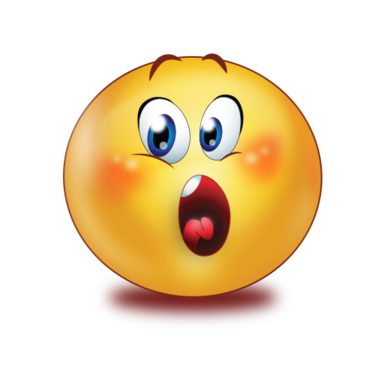 shocked face with open mouse />                                                                                        