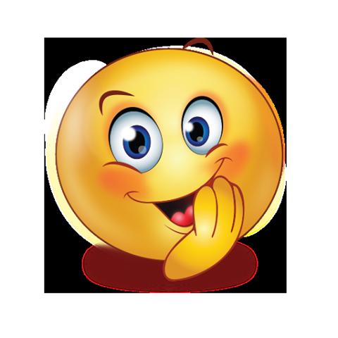 evil smile emoji