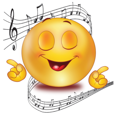 Image result for singing emoji