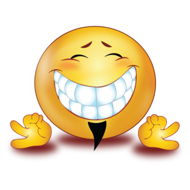 big teeth smile perfect hand sign />                                                                                        