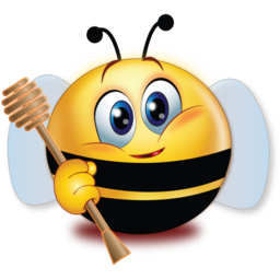 bee costume stickers