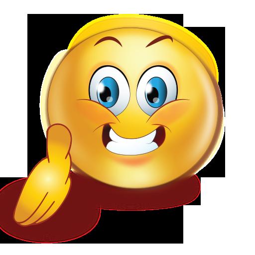 greet shake hand emoji