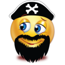 evil beard pirate