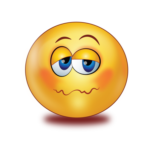 not feeling well emoji
