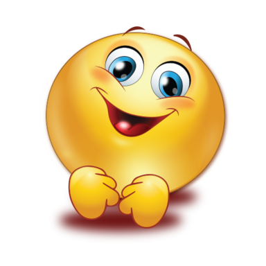warm exciting smile sticker