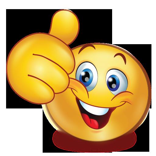 Cheer Happy Thumb Up Emoji