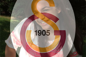 Galatasaray Flag Overlay photo effect