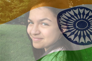 India Flag Overlay photo effect