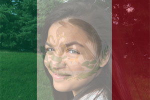 Mexico Flag Overlay photo effect