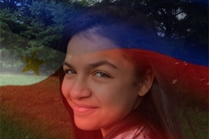 Philippine Flag Overlay photo effect
