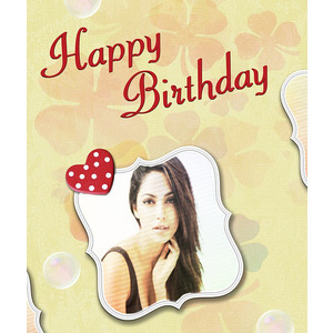 Your Picture On A Birthday Card photo effect