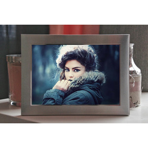 Your Picture On A Frame On A Table photo effect