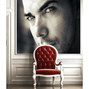 Your Picture On The Frame Behind The Chair photo effect