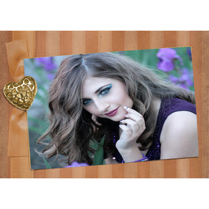 Your Picture On The Gold Card photo effect