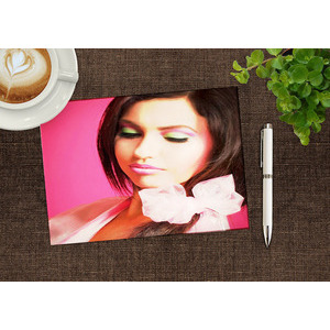 Your Picture On The Image On The Table 760 photo effect