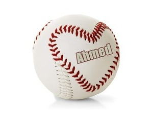 write name on baseball