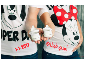 Your name and your lover on Mickey and Minnie T-shirts 000