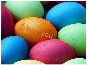 i love you egg