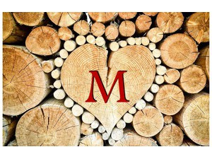 Your name and your lover at the heart of the wood 34 897